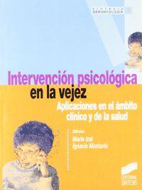 Intervencion psicologica en la vejez