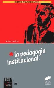 Pedagogia institucional, la