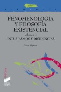 Fenomenologia filosofia existencial ii entusiasmos y disiden
