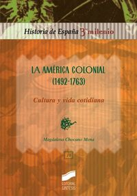 America colonial (1492-1763), la