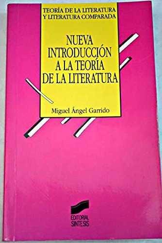 Nueva introduccion a la teoria de la literatura