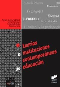 Teorias e instituciones contemporaneas de educacion