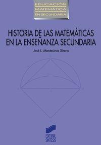 Historia de las matematicas en la enseñanza secundaria