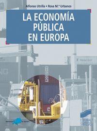 Economia publica en europa, la