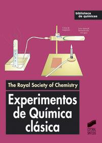 Experimentos de quimica clasica