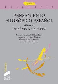 Pensamiento filosofico español volumen 1   filosofia 23