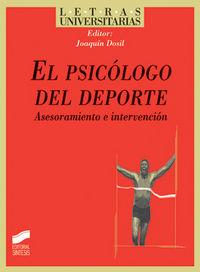 Psicologo del deporte, el