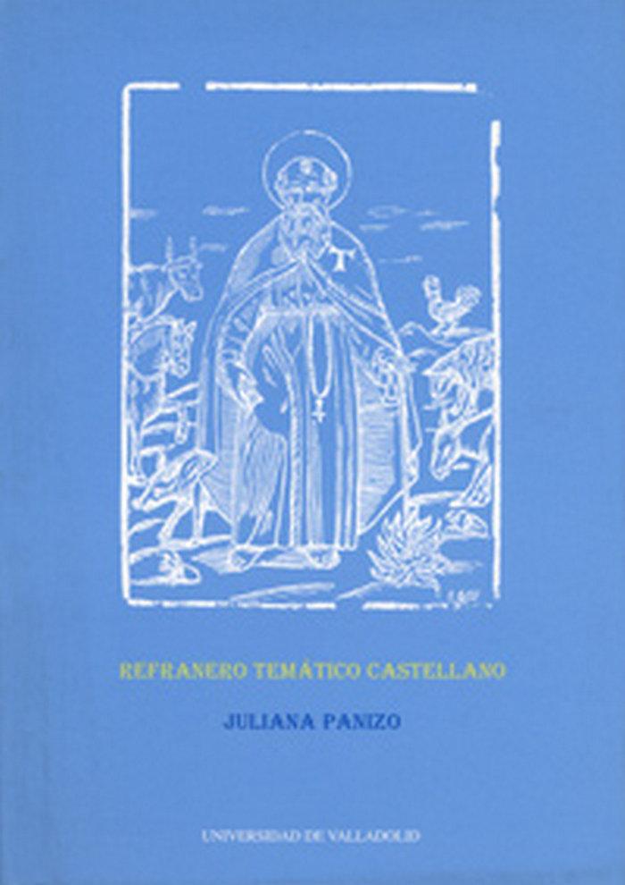 Refranero tematico castellano.coleccion literatura.