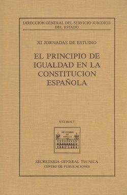 11 jornadas estudio principio igualdad constitucion española