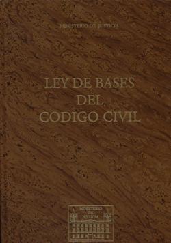 Ley de bases del codigo civil (facs.)