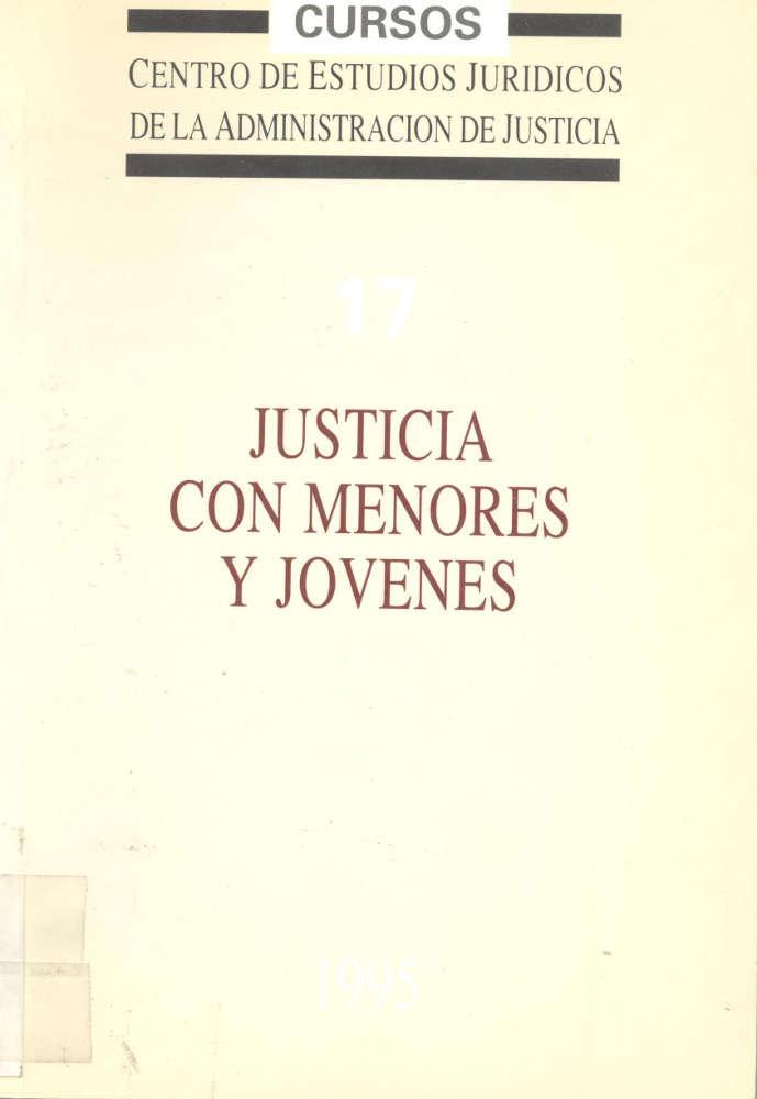 Justicia con menores y jovenes