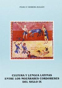 Cultura y lengua latinas entre los mozarabes cordobeses del