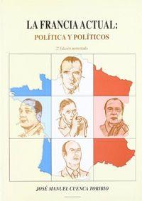 Francia actual politica y politicos 2ªed