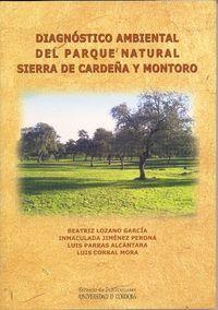 Diagnostico ambiental del parque natural de sierra de cardeñ