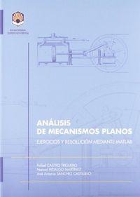 Analisis de mecanismos planos