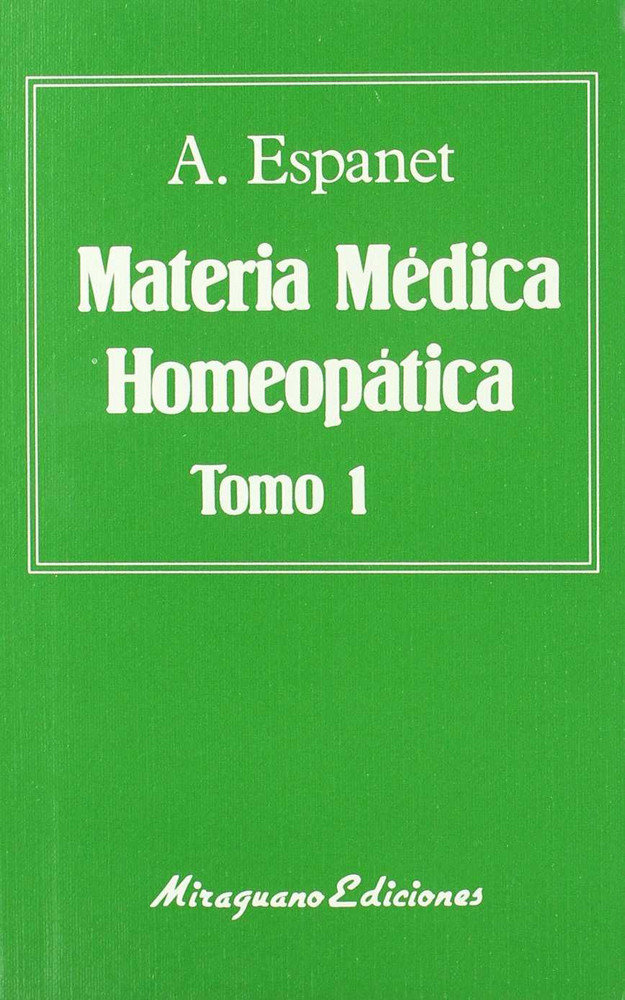 Materia medica homeopatica-2 tomos
