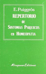 Repertorio sintomas psiq.homeopatia