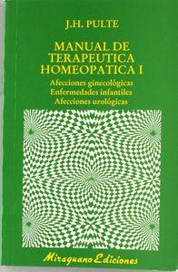 Manual terapeutica homeopatica - i