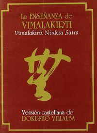La enseñanza de vimalakirti