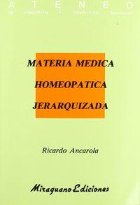 Materia medica homeopatica jerarqui