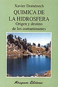 Quimica de la hidrosfera
