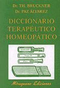 Dic.terapeutico homeopatico