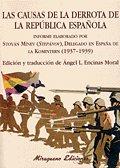 Causas derrota de la republica española