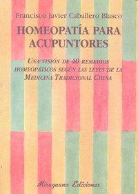 Homeopatia para acupuntores