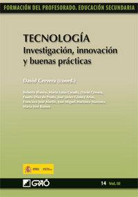 Tecnologia investigacion innovacion y buenas practicas