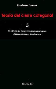 (5) teoria del cierre categorial (vol. 5)