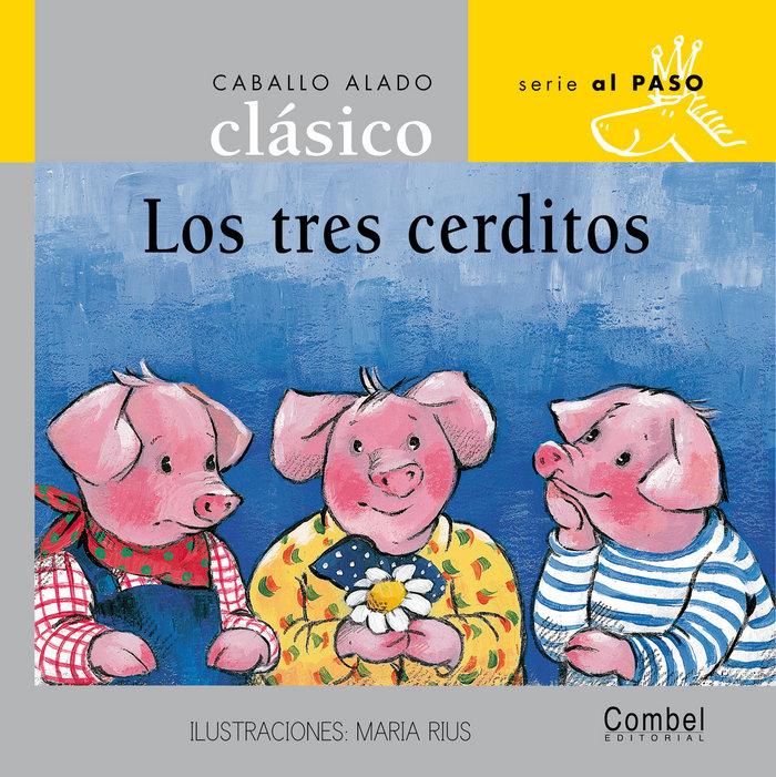 Tres cerditos mayusculas clasicos