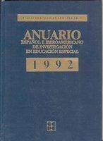 Anuario educacion especial 92