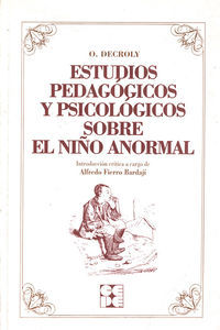 Estudios pedagogicos niño anormal