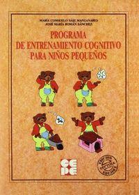 Programa entrenam.congnit.niños pequeños