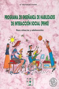 Programa enseñ.habilid.interac.social pehis