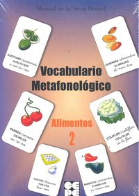 Alimentos 2 vocabulario metafonologico