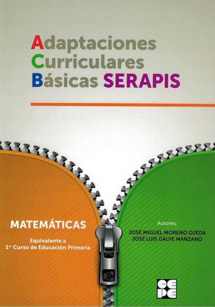Matematicas 1ºep adaptaciones curriculares basicas serapis