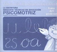 Escritura tec.educacion psicomotriz profesor +cd