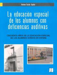 Educacion especial alumnos con deficiencias auditivas