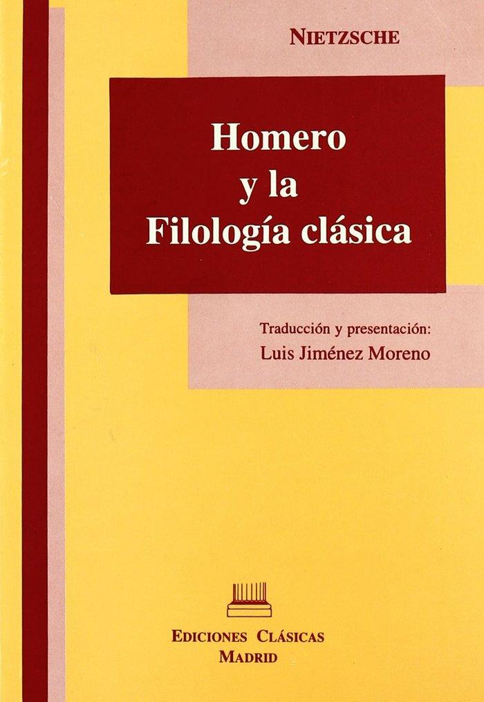 Homero y la filologia clasica