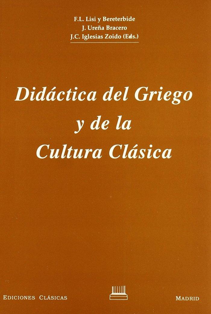 Didactica del griego y de la cultura clasica