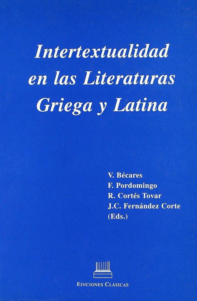 Intertextualidad en las literaturas griega y latina