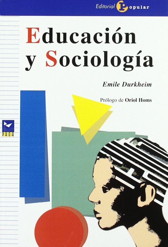 Educaci½n y sociolog¡a