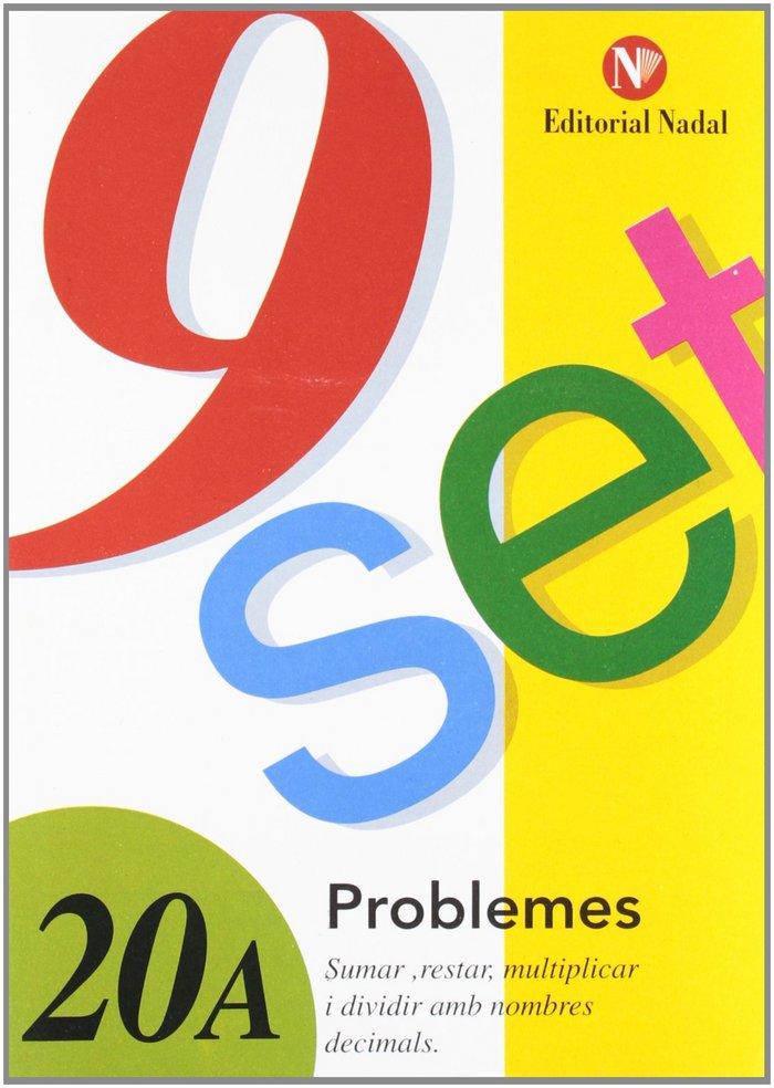 Nou set problemes 20a tot amb nombres decimals