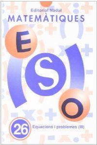 Cuaderno matematiques 26 eso (catalan)