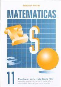 Cuaderno matematicas eso 11
