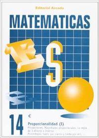 Cuaderno matematicas eso 14