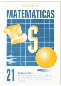 Cuaderno matematicas eso 21