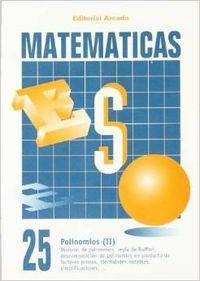 Cuaderno matematicas eso 25