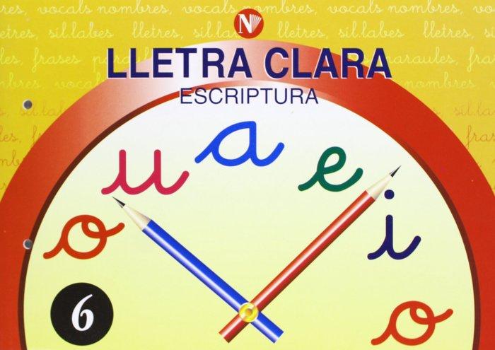 Escriptura 6 ep lletra clara
